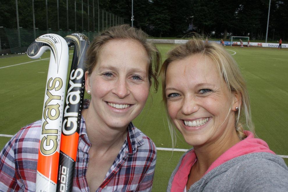 Feldhockey mit Olympionikin Marion Rodewald