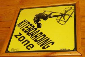 Kiteboarding Zone gesperrt für Badegäste