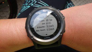 RTF 180 km Uhr