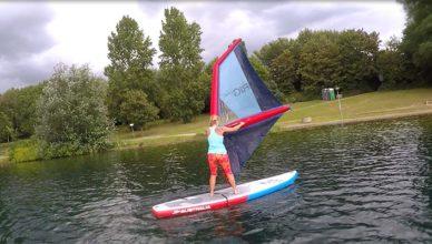 Lightriding und SUP Yoga - Wassersport to go