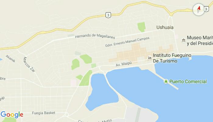 Ushuaia (c) Google Maps