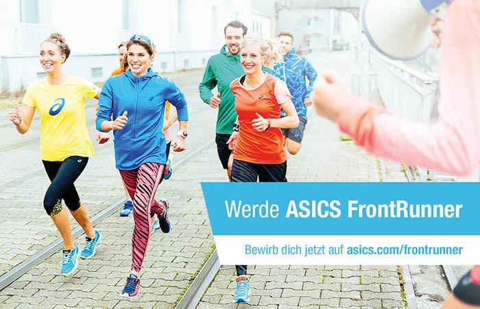 Werde ASICS Frontrunner