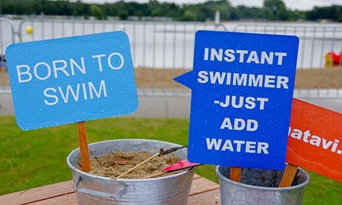 Usee-Schwimmen