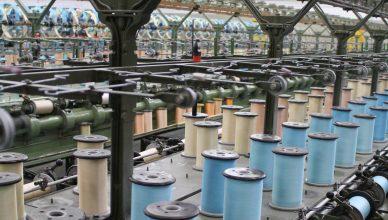 Spinnerei in Indien. Umweltbundesamt. Brigitte Zietlow